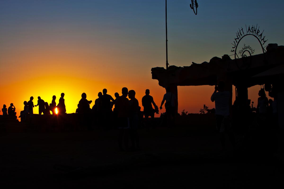Sunset Asram